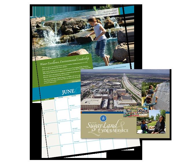 Sugar Land City Calendar