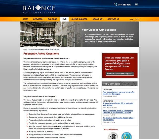 Balance International (FAQs)