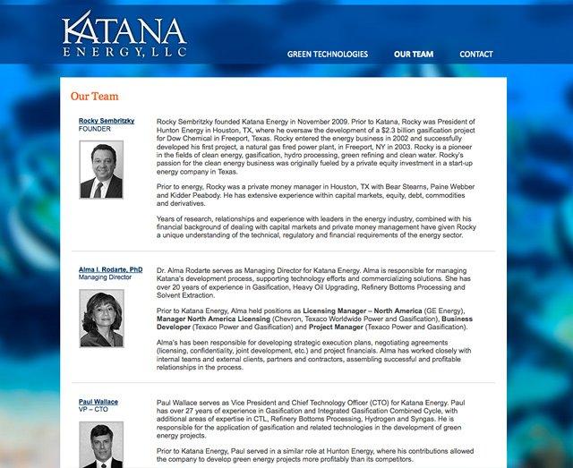 Katana Energy ( Team Page)