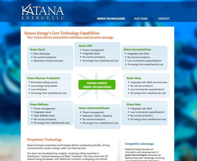 Katana Energy ( Technology Page)