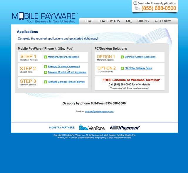Mobile PAYware (Apply)