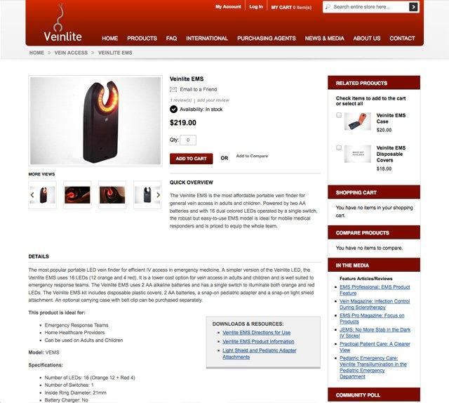 Veinlite (Products Detail)