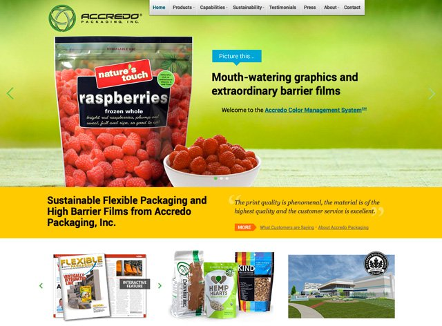 Accredo Packaging, Inc Homepage