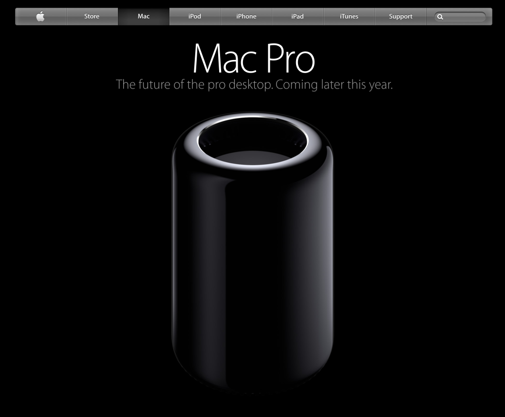 Apple Mac Pro - 2013 Reboot