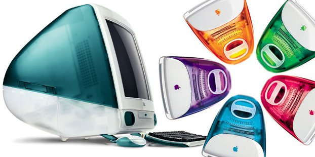 The original iMac, ca. 1998